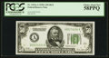 Small Size:Federal Reserve Notes, Fr. 2101-A $50 1928A Federal Reserve Note. PCGS Choice About New 58PPQ.. ...