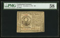 Colonial Notes:Continental Congress Issues, Continental Currency November 2, 1776 $30 PMG Choice AboutUncirculated 58.. ...