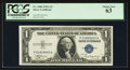 Fr. 1608 $1 1935A Silver Certificate. P-A Block. PCGS Choice New 63