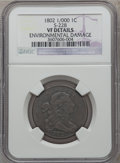 Large Cents, 1802 1C 1/000 -- Environmental Damage -- NGC Details. VF. S-228.NGC Census: (30/235). PCGS Population (38/297). Mintage: ...