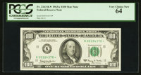 Fr. 2163-K $100 1963A Federal Reserve Note. PCGS Very Choice New 64