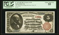 New York, NY - $5 1882 Brown Back Fr. 469 The American Exchange NB Ch. # 1394