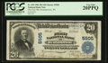 National Bank Notes:Wisconsin, Oconomowoc, WI - $20 1902 Plain Back Fr. 659 The First NB Ch. # 5505. ...