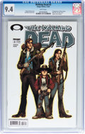 Modern Age (1980-Present):Horror, Walking Dead #3 (Image, 2003) CGC NM 9.4 White pages....