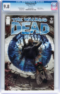 Modern Age (1980-Present):Horror, Walking Dead #9 (Image, 2004) CGC NM/MT 9.8 White pages....