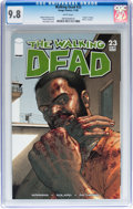 Modern Age (1980-Present):Horror, Walking Dead #23 (Image, 2005) CGC NM/MT 9.8 White pages....