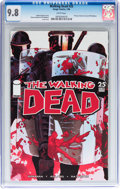 Modern Age (1980-Present):Horror, Walking Dead #25 (Image, 2006) CGC NM/MT 9.8 White pages....