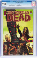 Modern Age (1980-Present):Horror, Walking Dead #26 (Image, 2006) CGC NM/MT 9.8 White pages....
