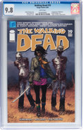 Modern Age (1980-Present):Horror, Walking Dead #19 (Image, 2005) CGC NM/MT 9.8 White pages....