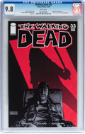 Modern Age (1980-Present):Horror, Walking Dead #33 (Image, 2006) CGC NM/MT 9.8 White pages....