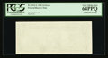 Error Notes:Blank Reverse (100%), Fr. 1911-L $1 1981 Federal Reserve Note. PCGS Very Choice New 64PPQ.. ...
