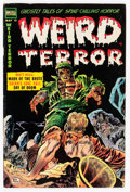 Golden Age (1938-1955):Horror, Weird Terror #11 (Comic Media, 1954) Condition: VG/FN....