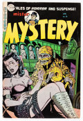 Golden Age (1938-1955):Horror, Mister Mystery #16 (Aragon, 1954) Condition: VG+....