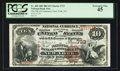 New York, NY - $10 1882 Brown Back Fr. 480 The NB of Commerce Ch. # 733