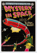 Golden Age (1938-1955):Science Fiction, Mystery in Space #19 (DC, 1954) Condition: VG+....