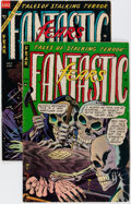 Golden Age (1938-1955):Horror, Fantastic Fears #5 and 8 Group (Farrell, 1954).... (Total: 2 ComicBooks)