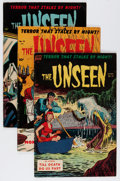 Golden Age (1938-1955):Horror, The Unseen #12, 14, and 15 Group (Standard, 1954) Condition:Average VG.... (Total: 3 Comic Books)