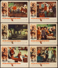 """Movie Posters:Western, The Man Who Shot Liberty Valance (Paramount, 1962). Lobby Cards (6)(11"""" X 14""""). Western.. ... (Total: 6 Items)"""