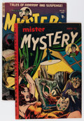 Golden Age (1938-1955):Science Fiction, Mister Mystery #4 and 14 Group (Aragon, 1952-54).... (Total: 2Comic Books)