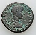 Ancients:Roman Provincial , Ancients: MOESIA INFERIOR. Nicopolis ad Istrum. Diadumenian asCaesar (AD 217-218). Æ 26mm (9.91 gm)....
