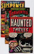 Golden Age (1938-1955):Horror, Comic Books - Assorted Pre-Code Horror Comics and Others Group(Various Publishers, 1950s-'80s) Condition: Average VG.... (Total:8 Comic Books)