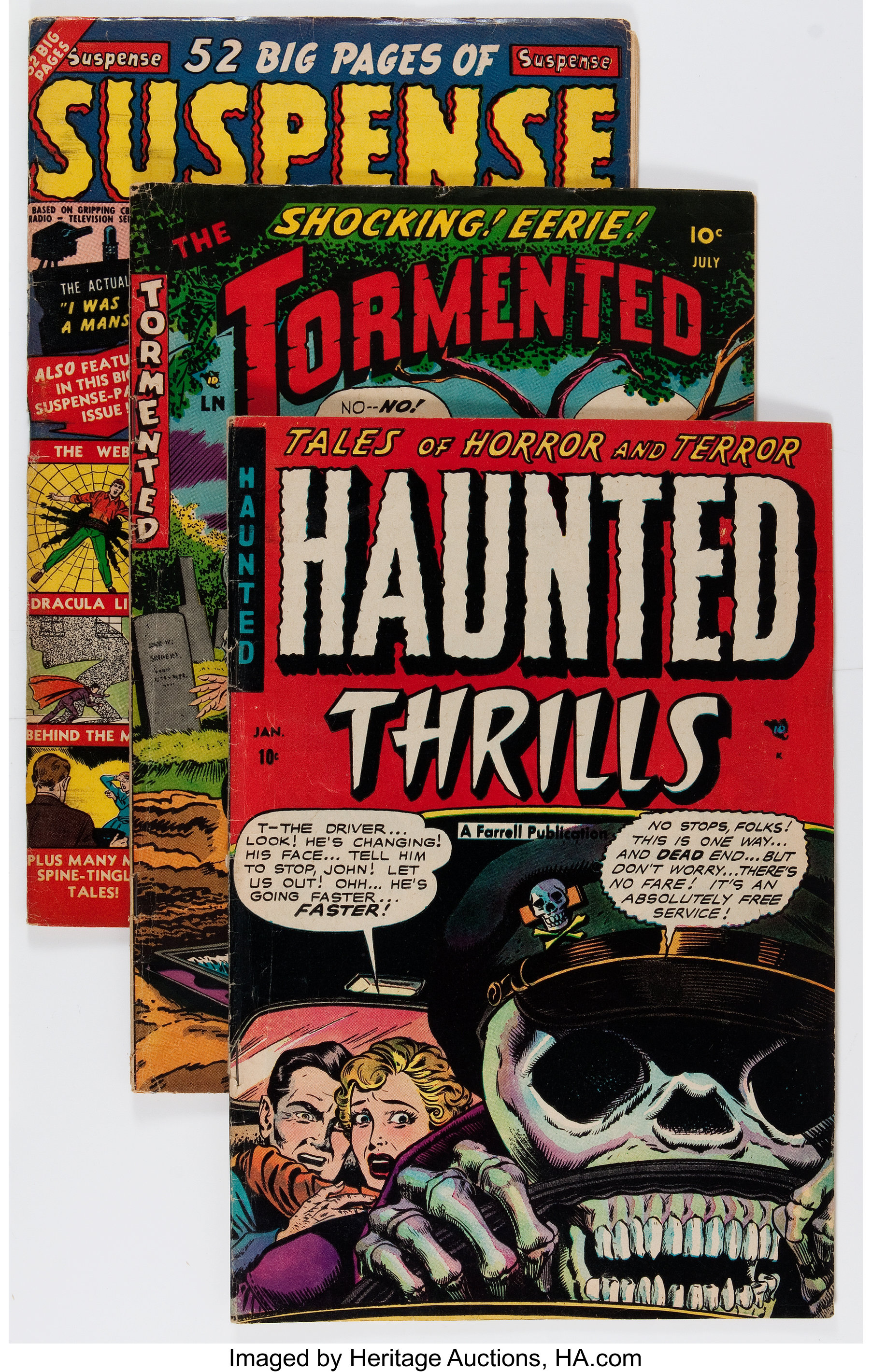 Comic Books - Assorted Pre-Code Horror Comics and Others