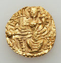 Ancients:Oriental, Ancients: INDIA. Kushan Empire. Vasudeva II (ca. AD 290-310). AV dinar (7.87 gm).  ...