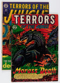 Golden Age (1938-1955):Horror, Terrors of the Jungle #4 and 21 Group (Star Publications, 1953)....(Total: 2 Comic Books)