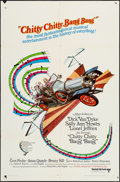 "Movie Posters:Fantasy, Chitty Chitty Bang Bang (United Artists, 1969). One Sheet (27"" X 41""), Pressbook (8 Pages, 13"" X 18""), & Roadshow Bulletin (... (Total: 3 Items)"