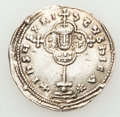Ancients:Byzantine, Ancients: Nicephorus II Phocas (AD 963-969). AR miliaresion (3.01gm)....