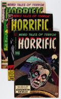 Golden Age (1938-1955):Horror, Horrific Group (Comic Media, 1953-54) Condition: Average GD/VG....(Total: 4 Comic Books)