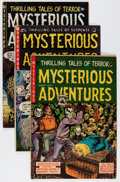 Golden Age (1938-1955):Horror, Mysterious Adventures #17, 18, and 21 Group (Story Comics, 1954-55)Condition: Average VG+.... (Total: 3 Comic Books)