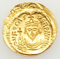 Ancients:Byzantine, Ancients: Phocas (AD 602-610). AV solidus (4.42 gm). ...