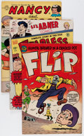 Golden Age (1938-1955):Miscellaneous, Comic Books - Assorted Golden Age Comics Group (Various Publishers, 1950s) Condition: VG+.... (Total: 14 Comic Books)