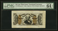 Fractional Currency:Third Issue, Fr. 1328SP 50¢ Third Issue Spinner PMG Choice Uncirculated 64 Net.. ...