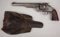 """Western Expansion:Cowboy, SMITH & WESSON MODEL NO. 3 SECOND MODEL SINGLE ACTION REVOLVER.Serial number 10319, circa 1870s. 8"""" barrel in. .44 S & W Am...(Total: 1 Item)"""