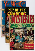 Golden Age (1938-1955):Miscellaneous, Golden Age Miscellaneous Low-Grade Reading Copies Comics Group (Various Publishers, 1940s-50s).... (Total: 69 Comic Books)