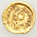 Ancients:Roman Imperial, Ancients: Leo I the Great (AD 457-474). AV tremissis (1.36 gm)....