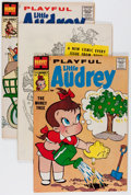 Silver Age (1956-1969):Humor, Playful Little Audrey File Copies Group (Harvey, 1958-76) Condition: Average VF/NM....