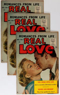 Silver Age (1956-1969):Romance, Real Love #76 Group (Ace Periodicals, 1956) Condition: AverageVF.... (Total: 15 Comic Books)