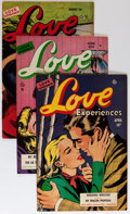 Golden Age (1938-1955):Romance, Love Experiences Group (Ace, 1951-56) Condition: Average FN/VF....(Total: 6 Comic Books)