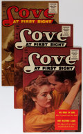 Golden Age (1938-1955):Romance, Love at First Sight #42 and 43 Group (Ace, 1956) Condition: AverageVF.... (Total: 5 Comic Books)