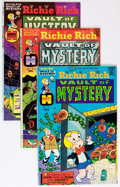 Bronze Age (1970-1979):Cartoon Character, Richie Rich Vaults of Mystery #1-47 File Copy Group (Harvey,1975-82) Condition: Average VF/NM.... (Total: 47 Comic Books)