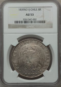 Chile, Chile: Republic 8 Reales 1839-IJ,...