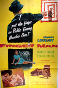 Miscellaneous:Movie Posters, [Movie Posters]. Group of Classic One Sheet Movie Posters. Titlesinclude: Lord of the Jungle (1955), Gunpoint,Fi...
