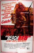 Miscellaneous:Movie Posters, [Movie Posters]. Group of Promotional Movie Materials. Titles andformats include: Beach Red one sheet and lobby card; t...