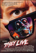 "Movie Posters:Science Fiction, They Live (Universal, 1988). One Sheet (27"" X 40"") DS. ScienceFiction.. ..."