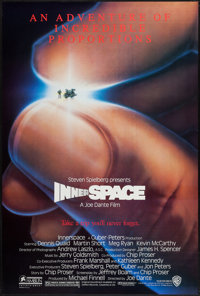 """Innerspace & Others Lot (Warner Brothers, 1987). One Sheets (3) (27"""" X 40"""" & 27"""" X 41"""") SS &..."""