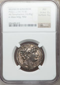 Ancients:Greek, Ancients: SELEUCID KINGDOM. Philip I Philadelphus (ca. 95-75 BC).AR tetradrachm (16.09 gm). ...
