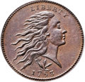 Large Cents, 1793 1C Wreath, Vine and Bars MS64 Brown PCGS. S-9, B-12, R.2. OurEAC Grade MS60....